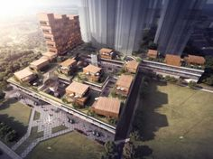 Mianshi Xidiwan Commercial complex by Tianhua Architecture Planning & Engineering Co.,Ltd. (Chengdu, China)   http://www.pendercapital.com/