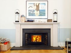 Very neat...why the i5 is the go to stove for low fireplaces.
