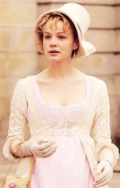 Carey Mulligan portrays the role of ''Isabella Thorpe'' in ''Northanger Abbey'' a British television film. 2007.