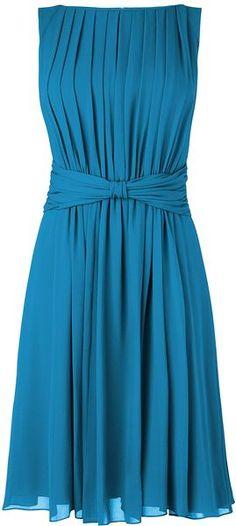 Romantic full skirted L.K. Bennett dress