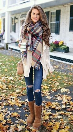 Cozy fall outfit ideas for active women 90208 clothes осенняя одежда, стиль Winter Fashion Outfits, Fall Winter Outfits, Women's Fashion Dresses, Look Fashion, Winter Boots, Womens Fashion, Winter Style, Casual Winter, Fashion Trends