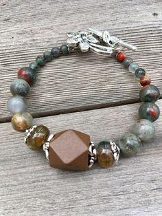 A personal favourite from my Etsy shop https://www.etsy.com/no-en/listing/523860918/african-agate-bracelet-bohemian-bracelet