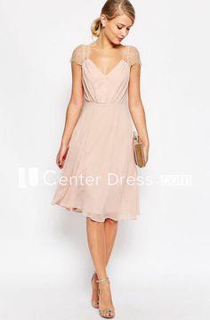 c7040754a5da 13 Best knee length bridesmaid dresses images   Wedding bridesmaids ...