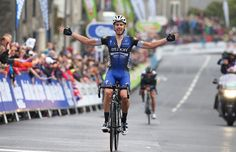 Julien Vermote wins Tour of Britain stage 2