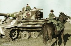 Russia 1943-44, sPzAbt.505, Tiger I late