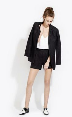 Try an oversized blazer from AYR.