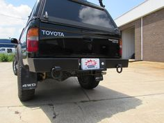 1995.5 - 2004 Toyota Tacoma rear bumper from WAM Bumpers
