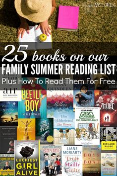 Wow! This summer reading list includes a reading list for women, a reading list for kids, and even a reading list for bloggers! Plus, I found out how to read them all for free.