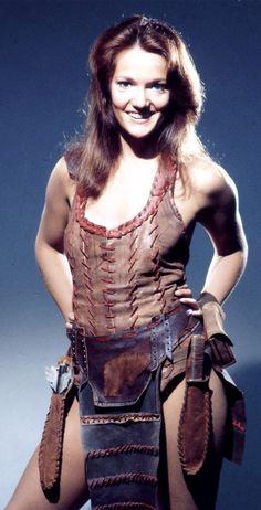 Women Of Doctor Who : Louise Jameson as Leela.