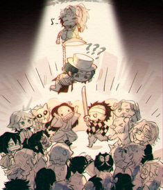 Read Kimetsu No Yaiba / Demon slayer full Manga chapters in English online! Manga Anime, Anime Demon, Otaku Anime, Anime Art, Dibujos Anime Chibi, Chibi Anime, Anime Bebe, Slayer Meme, Demon Hunter