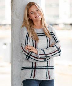 Ilse Jacobsen Kiddy Myk og lekker, strikket genser fra Ilse Jacobsen i herlig mohair/ull blanding. Tidsriktig fasong som gir et pent fall. Ribb i avrundet halsringing. En perfekt genser til høst-sesongen.  Vask 30 grader.' #sportmann #ilsejacobsen Sweaters, Dresses, Fashion, Gowns, Moda, La Mode, Pullover, Sweater, Dress