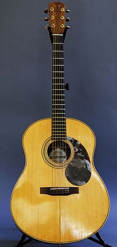 """Arlen Roth: I have two Gurians I use a lot. This is an early-'70s rosewood model; the other is mahogany. This one has a seam crack in the top. I played Paul Simon's Gurian on """"Trailways Bus"""" from his Capeman album and said, """"I've got to find a Gurian like that."""" Then I discovered ebay, and I was really in trouble!"""