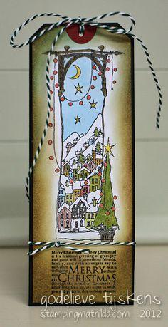 Merry Christmas - Tall Tag