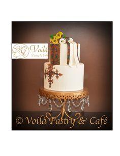 Africa Cake, Ethiopian Wedding, Nescafe, Wedding Cake Inspiration, Themed Cakes, Wonderful Things, Crosses, Envy, Wedding Cakes
