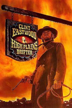 High Plains Drifter (1973)  Dir. Clint Eastwood    Clint Eastwood, Verna Bloom, Marianna Hill