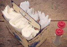 These amazingly creative hacks take family camping trips to a whole new level. Pin away to become a happier camper.: Upcycle a 6-pack holder