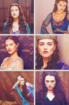 The lovely Morgana Pendragon.
