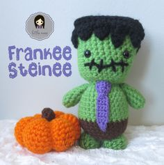 Frankee Steinee (free crochet pattern)