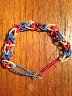 My rainbow bracelets