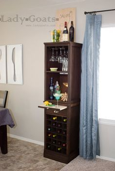 Ana White   Build a Mod Bar - Wine Grid Base   Free and Easy DIY Project and Furniture Plans
