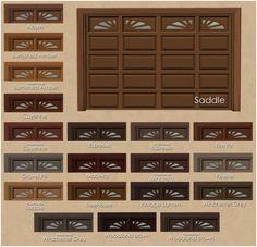 Mod The Sims - OpenAuto Garage Door Recolors