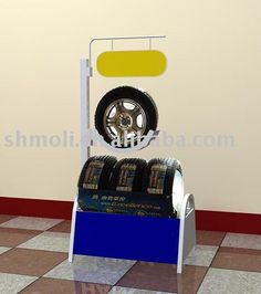 tire display | ... Details: Tire Racking, Display Stand for tire (tire display rack