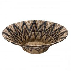In the great tradition of African basket weaving each basket takes many hours to make and the skill is passed down over generations. Other bowls add a contemporary twist to old techniques, such as papier mâché.