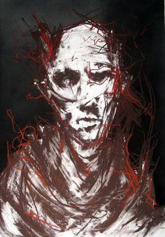 The Hypocrite - From the Rust and Mud seres - Joseph Loughborough Joseph Loughborough paintings, plastic arts, visual arts, art