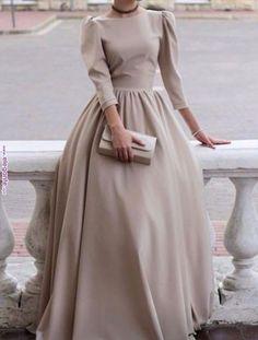 Muslim Fashion 608126755922862205 - Hijab Fashion 611645193128113965 – Voici la robe – Vêtements Hijab – – robe de mariée – Source by coiffureVin Source by Modest Dresses, Trendy Dresses, Simple Dresses, Elegant Dresses, Beautiful Dresses, Nice Dresses, Formal Dresses, Dresses For Hijab, Modest Clothing