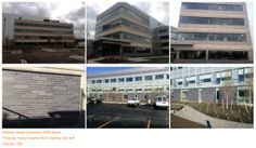 Project (3) Material: Beige Limestone, G684 Basalt Products: Honed Exterior Wall Cladding with Kerf Country: USA