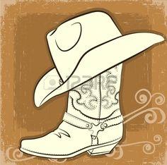 paper cowboy boot pattern - Google Search