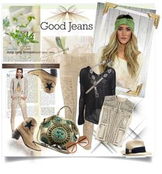 """""""Great Lookin' Jeans"""" by judysingley-polyvore ❤ liked on Polyvore"""