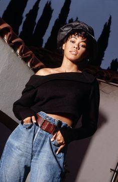Lela Rochon Returns To Social Media Wearing Wedding Ring Source by BradleyUppercrustIII fashion idea Neo Grunge, Grunge Style, Soft Grunge, Tokyo Street Fashion, Fashion 90s, Black Girl Fashion, Fashion Outfits, Vintage Black Glamour, Look Vintage