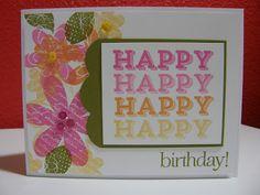 Cupcakes, Cards and Kim: Papertrey Ink Blog Hop - May 2013