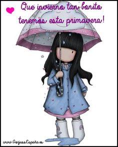 Una sonrisa al día de lluvia ;)