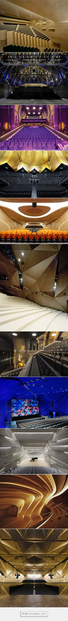 Best of Contemporary Theaters & Playhouses — KNSTRCT - created via http://pinthemall.net
