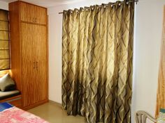 Interior Design Ideas in Hyderabad Interior Designers In Hyderabad, Room Interior Design, Design Ideas, Curtains, Bedroom, Villa, Home Decor, Blinds, Decoration Home