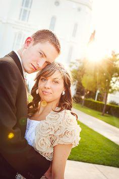St. George Utah Temple Bridal Photography
