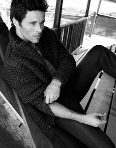 Yu Tsai by James Marsden for InStyle Man Russia