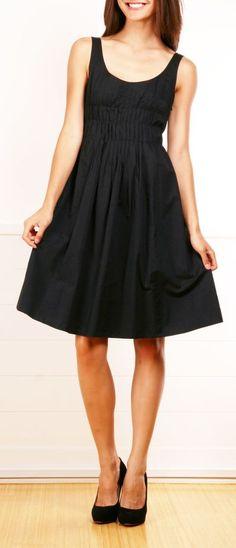 Black Flare Dress.