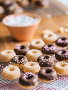 Most Delicious Recipe, Tiny Food, Doughnut, Sweet Tooth, Sweet Treats, Food And Drink, Cooking Recipes, Yummy Food, Breakfast