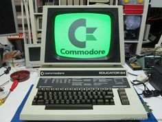 A working Commodore Educator 64