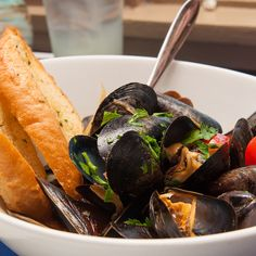 Prince Edward Island Mussels @ Narcoossee's