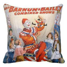 Vintage Ringling Bros - Barnum & Bailey Clown Show