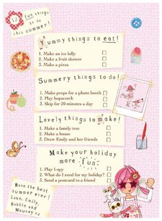 Fruit Lollies, School Checklist, Hopscotch, Uk News, Summer School, Photo Booth, Activities, Button, Type