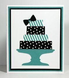 Simple Washi Tape Cake Card!