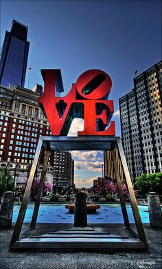 Love Sign - Philadelphia, PA