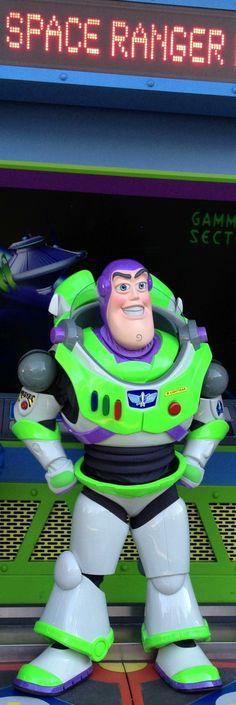 Buzz Lightyear at Hollywood Studios