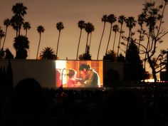 Watch movies outdoors this summer right here in LA.