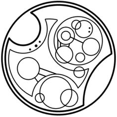"""The oncoming storm"" written in circular Gallifreyan requested by goodqueenbess"
